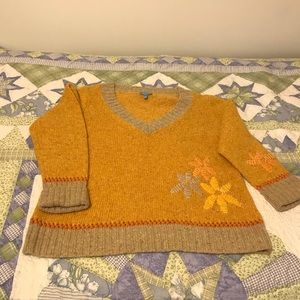 Escada sport yellow sweater